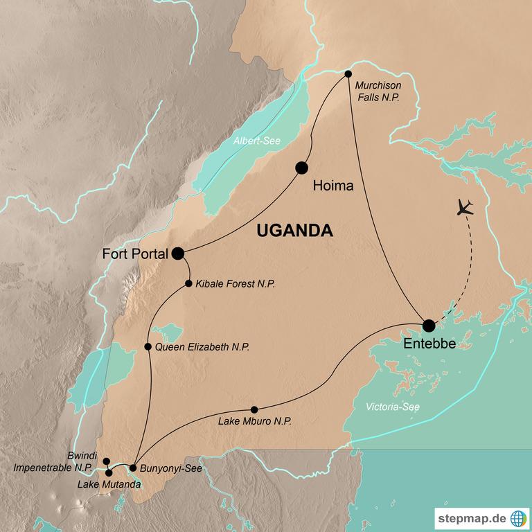 Uganda – Im Angesicht der sanften Riesen