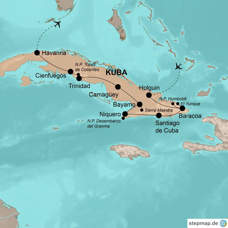 Kuba – Spektakuläre Trekkingtouren im Karibikparadies