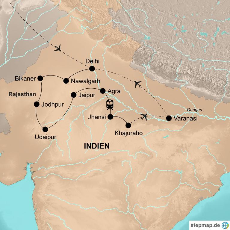 Indien: der Norden – Märchenhaftes Nordindien