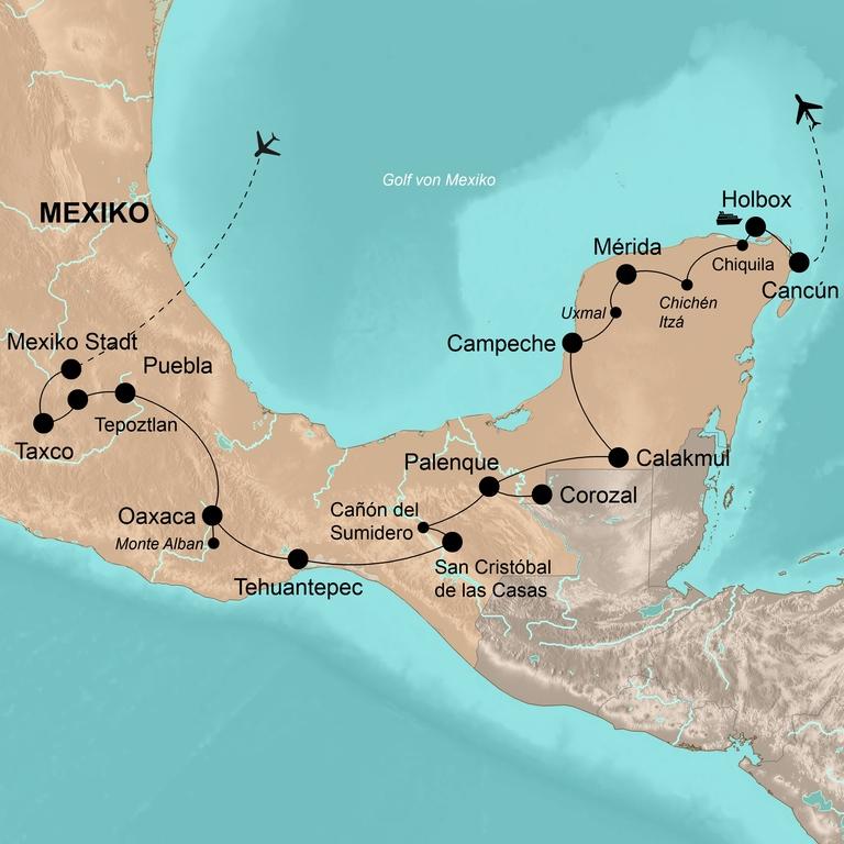 Mexiko – Die Große Rundreise