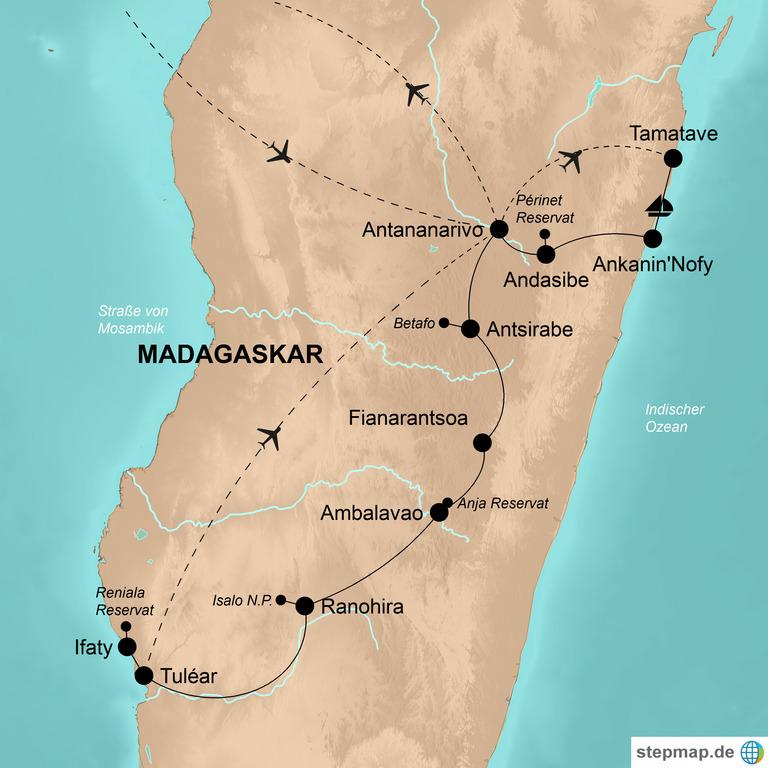 Madagaskar – Eldorado für Naturfreunde