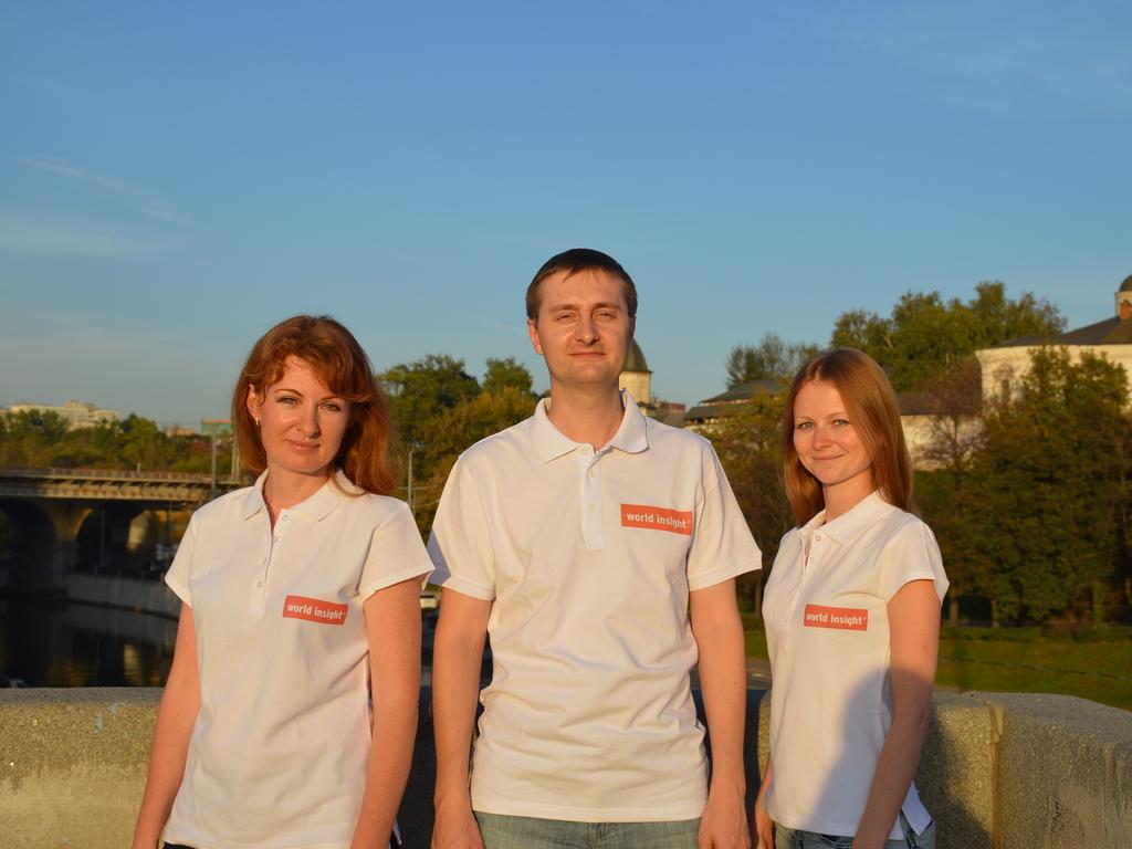Unser Team in Russland.