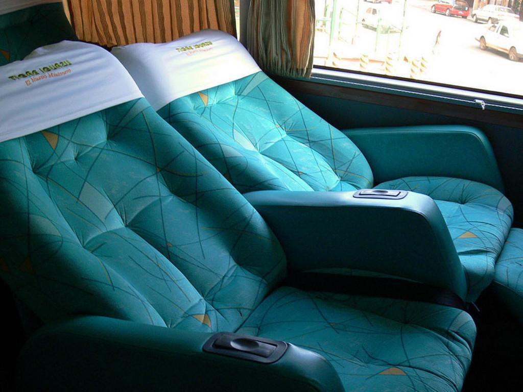 Nachtbus (Fahrt von Buenos Aires nach Posadas)