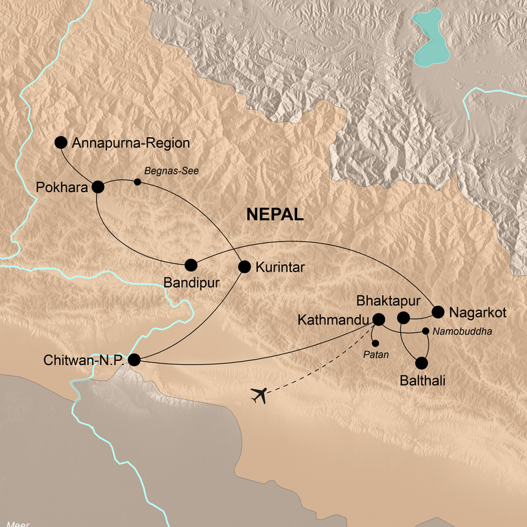 Nepal – Zu Fuß zu den Göttern