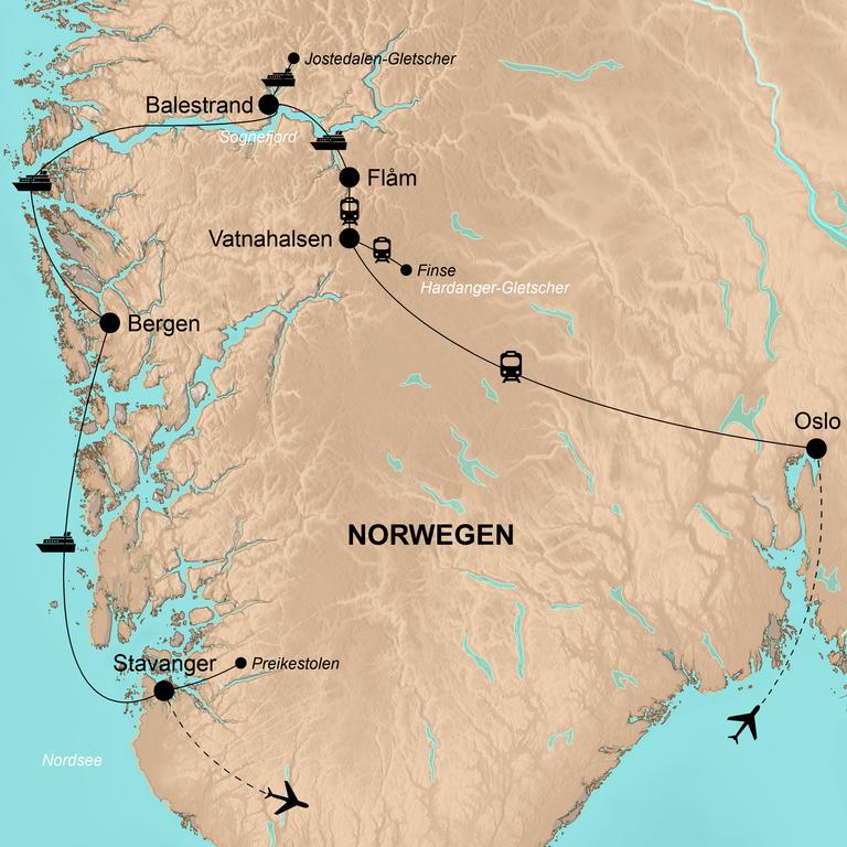 Norwegen – Die Schätze des Südens