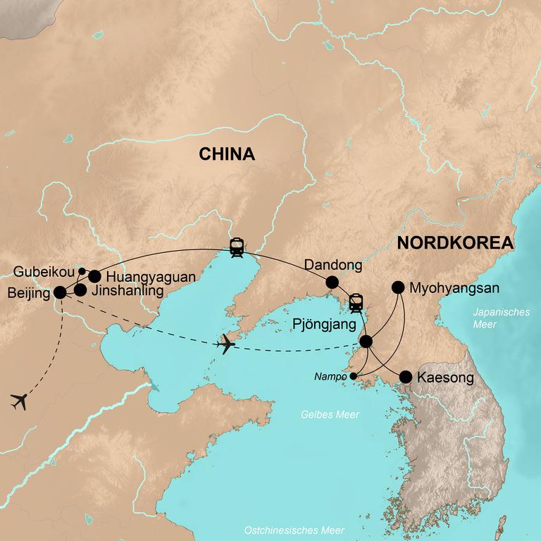 Nordchina und Nordkorea – Zu Gast bei Mr. Kim