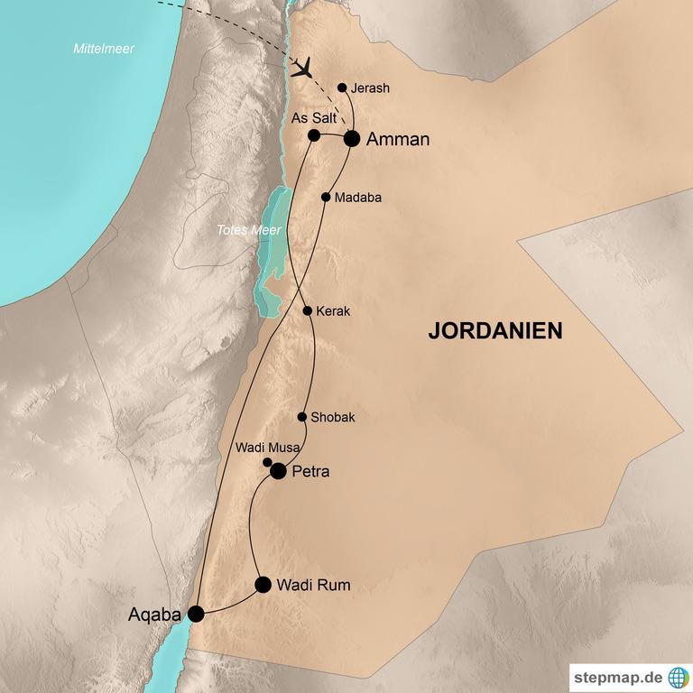 Jordanien  – Abenteuer Orient