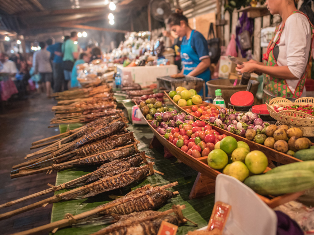Luang Prabang: Fahrrad-Tour, Phou Si-Hügel und Nachtmarkt