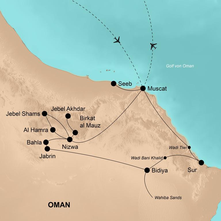 Oman – Auszeit