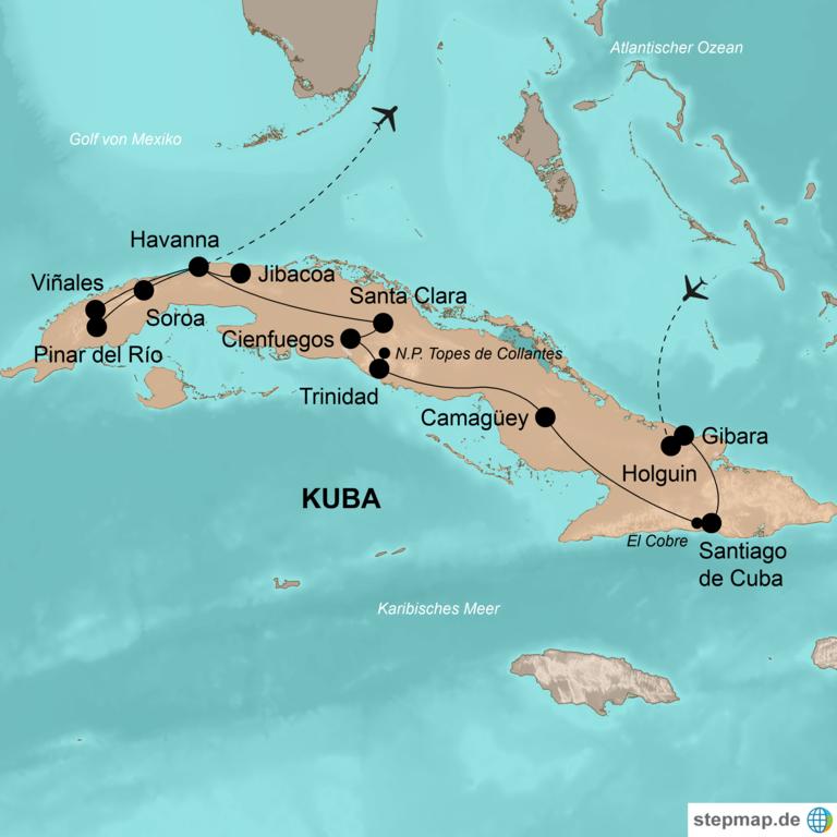 Kuba – Die schönsten Seiten der Zuckerinsel