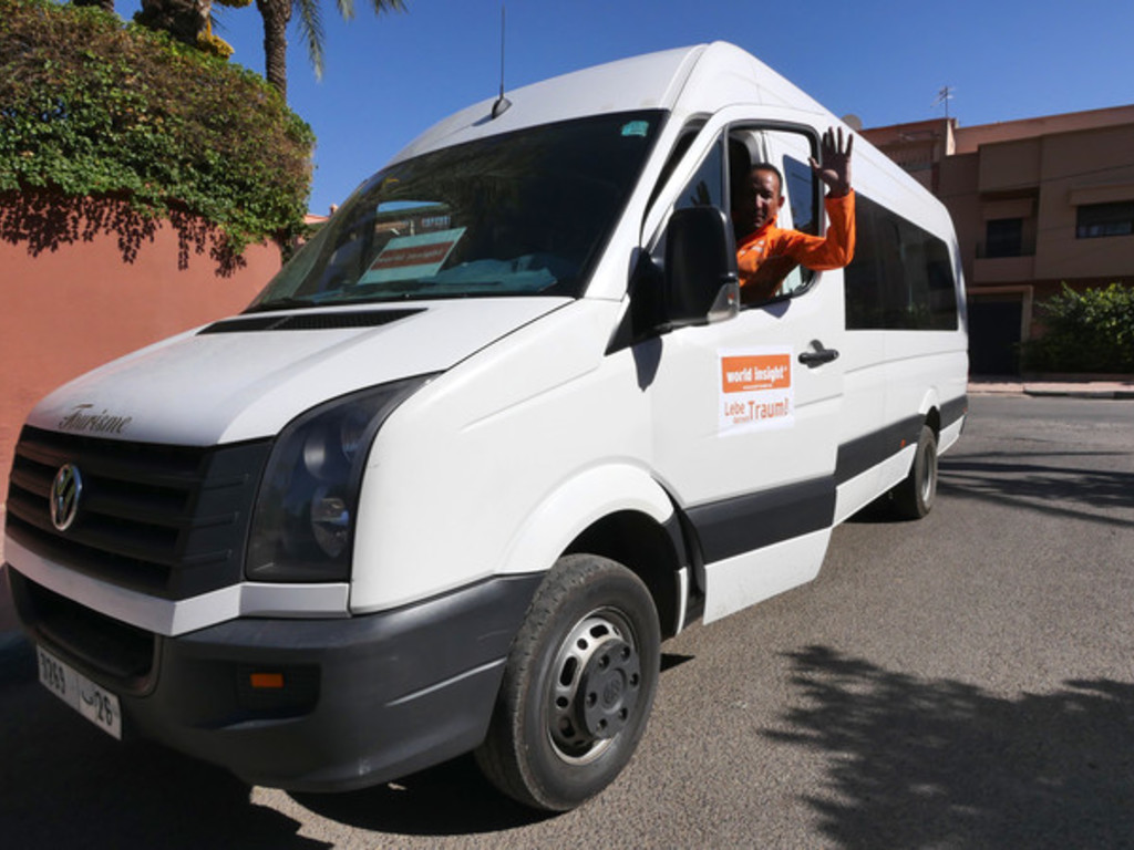 Unser Bus in Marokko
