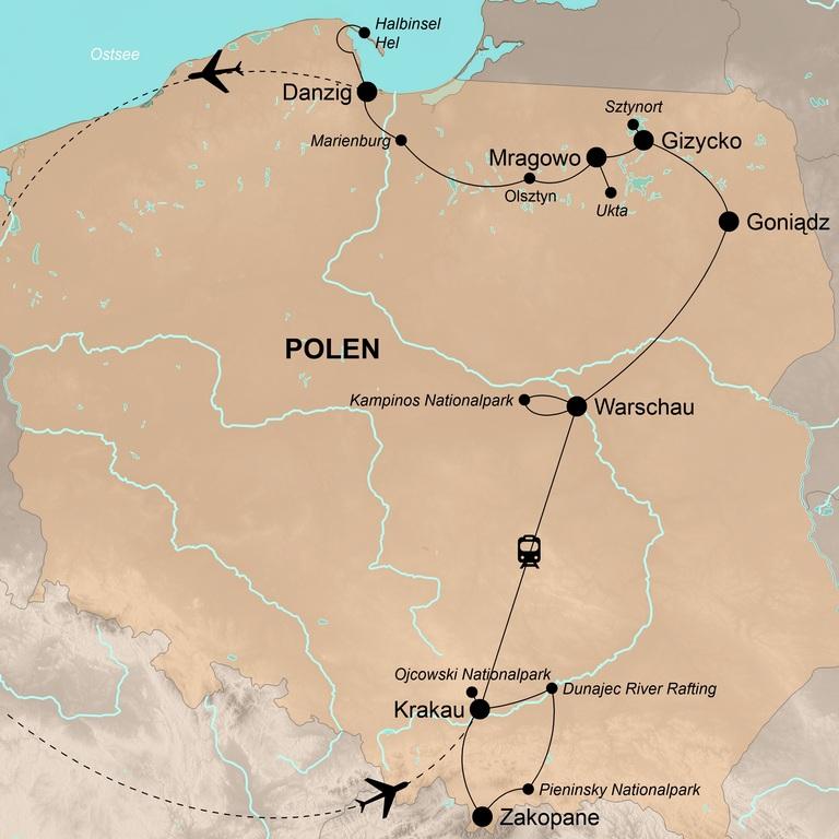 Polen – Von der Tatra bis zur Ostsee