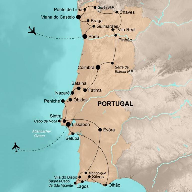 Portugal – Die umfassende Reise