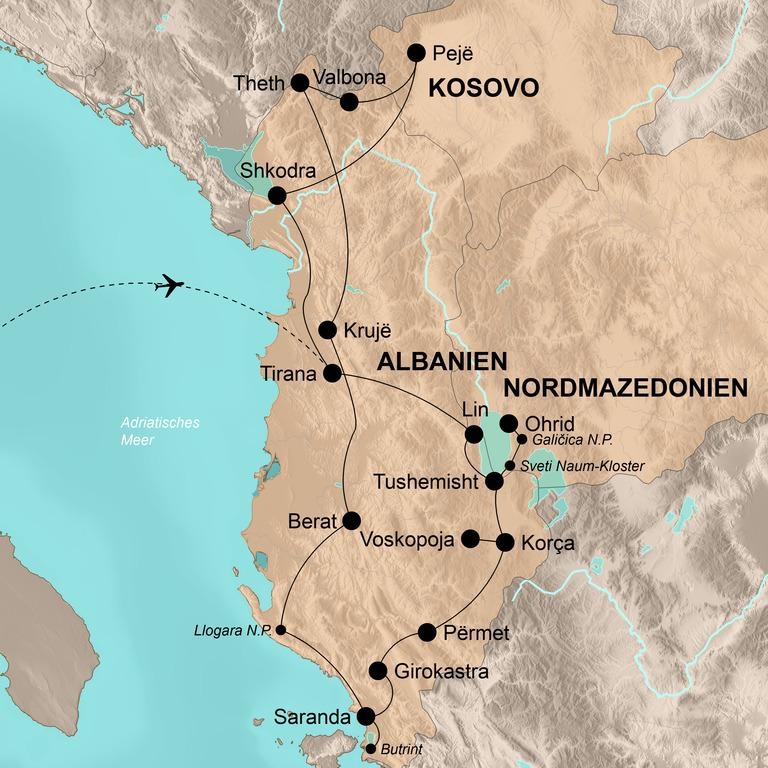 Albanien, Kosovo und Mazedonien – Spektakuläres Ende Europas