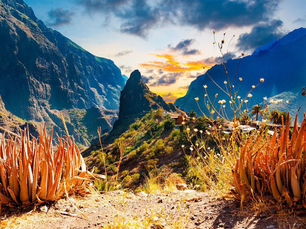 Vilaflor – Santiago del Teide – Masca – Vilaflor: Fahrt nach Santiago del Teide, Wanderung durch das Teno-Gebirge nach Masca