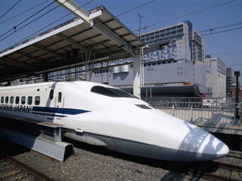 Shinkansen Hochgeschwindigkeitszug in Japan