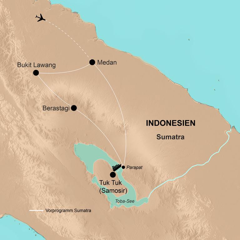 Indonesien: Java und Bali mit Vorprogramm Sumatra – Götter, Geister, Abenteuer