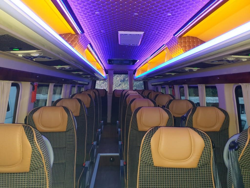 Minibus - Innenansicht
