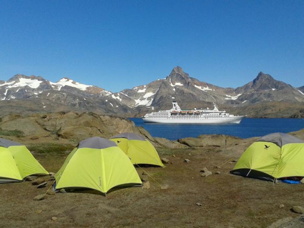 Tasiilaq – Mittivakkat: Fahrt mit den Booten zum Mittivakkat-Wildniscamp