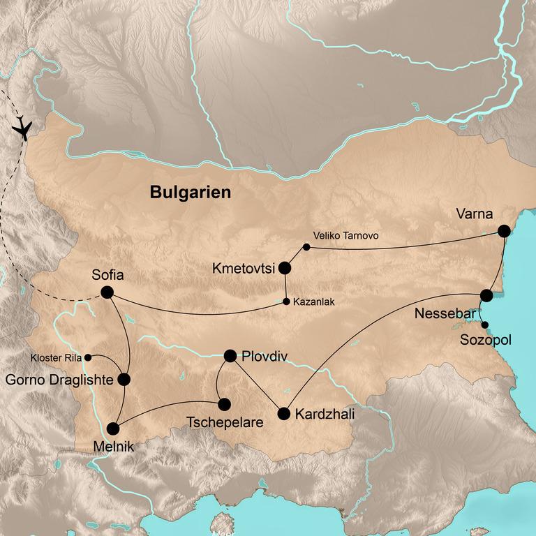 Bulgarien – Bunte Erlebnisse im unbekannten Balkanparadies