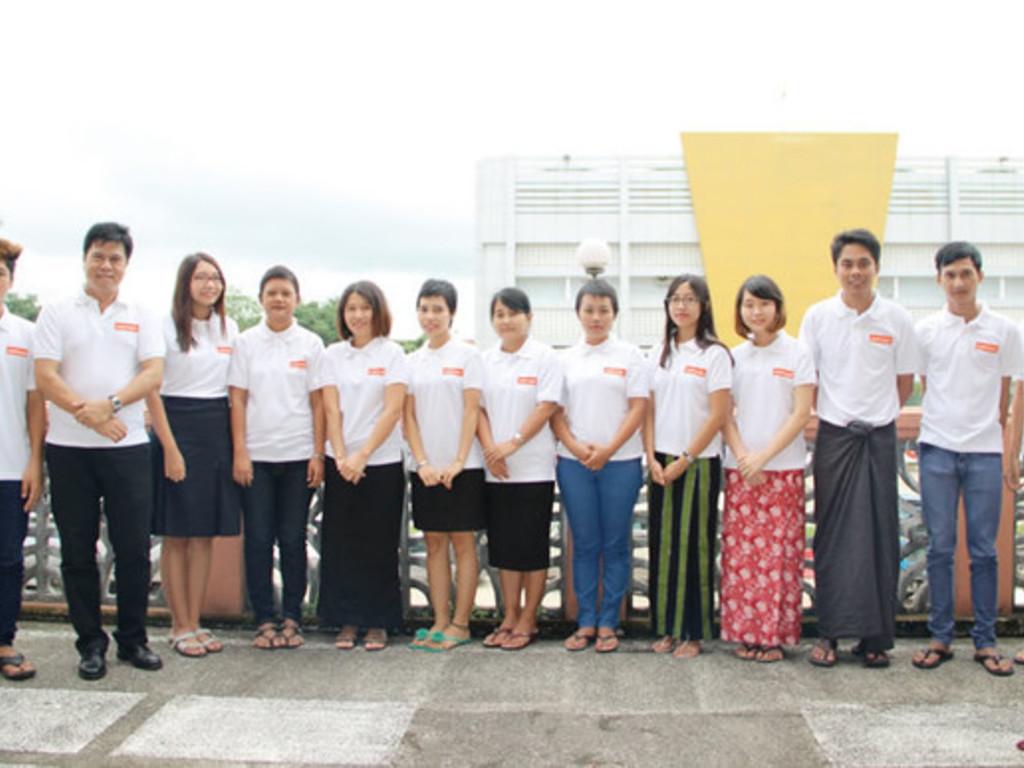 Unser Team in Myanmar