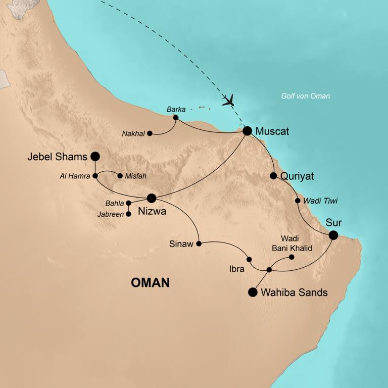 Oman – Im Land des Weihrauchs
