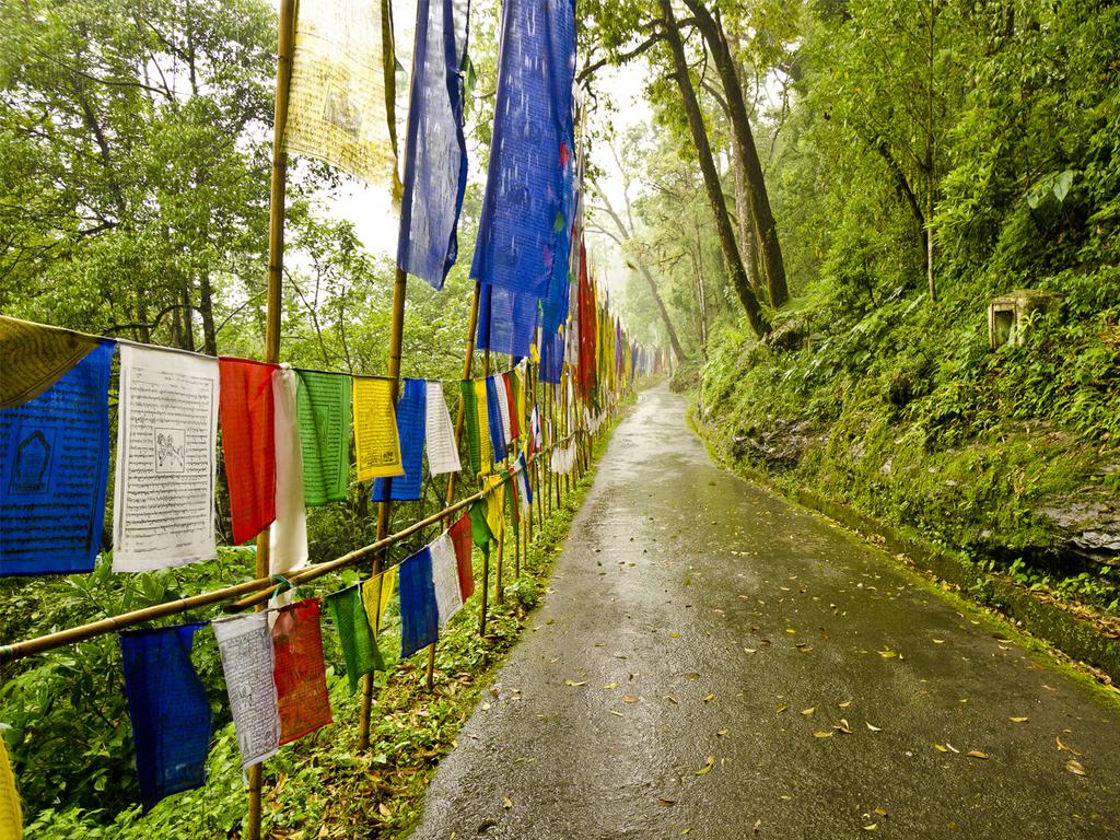 Darjeeling und Ghoom: Himalaya-Mountaineering-Institut, Dampflokfahrt nach Ghoom, Klosterbesuch, Momo-Kochdemonstration