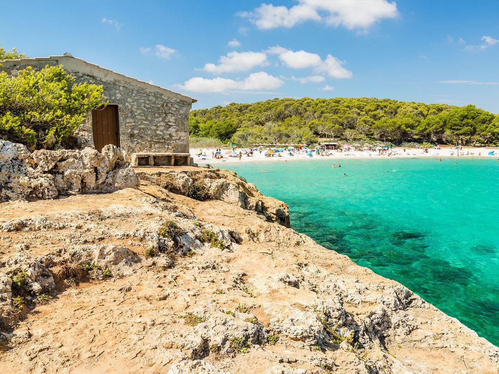 Playa Mondrago: Freizeit am Strand