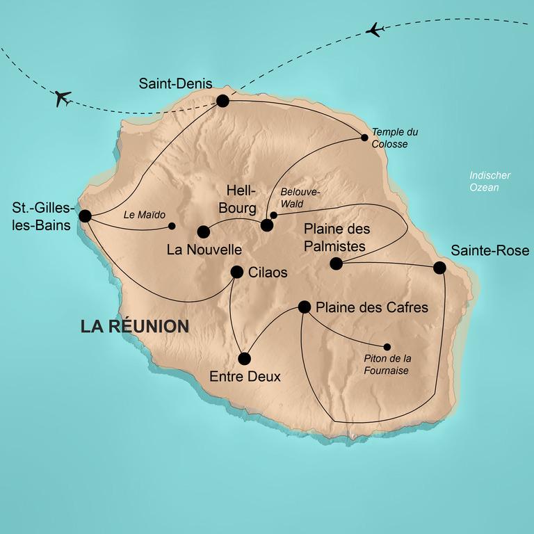 La Réunion – Naturwunder im Indischen Ozean