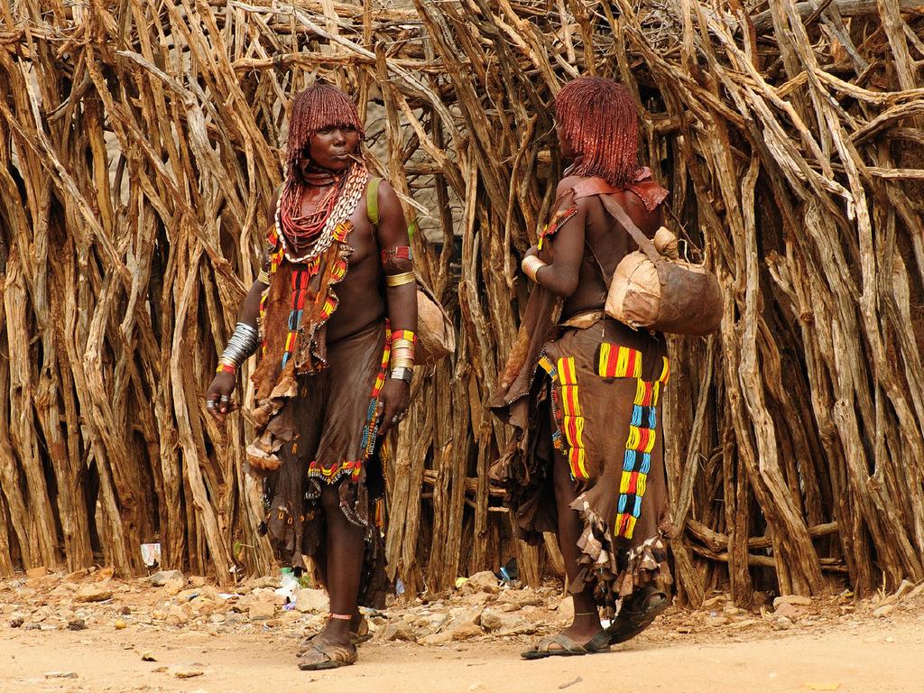Turmi – Jinka: Besuch der Volksgruppen Arbore und Ari