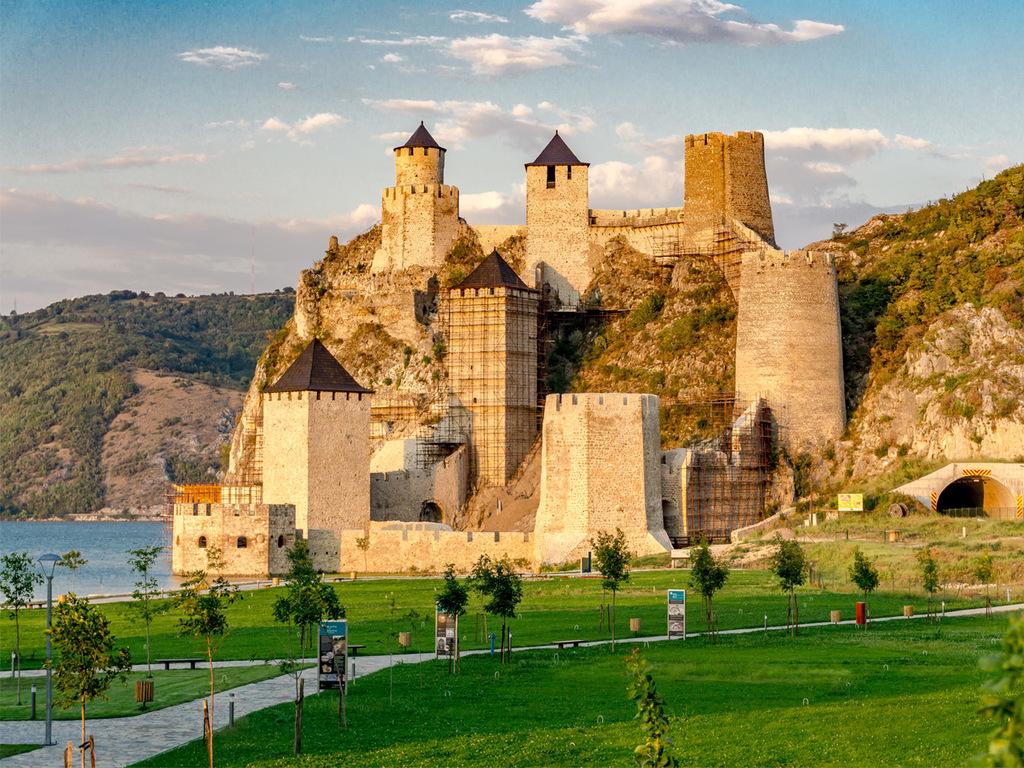 Festung Golubac an der Donau