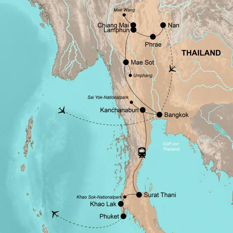 Thailand – Abenteuer in unentdeckten Naturparadiesen