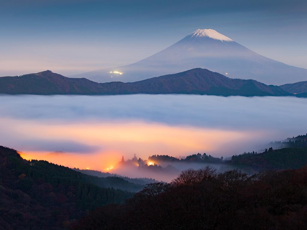 Tokyo – Fuji-Hakone-Nationalpark: Fuji-Hakone-Nationalpark mit Seilbahnfahrt und Bootsfahrt auf dem Ashino-See
